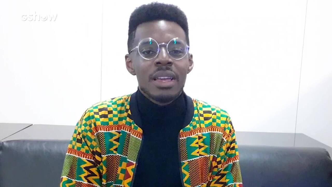 Kevin Ndjana, um dos finalistas da edição 2018 do The Voice Brasil, fala de seus projetos