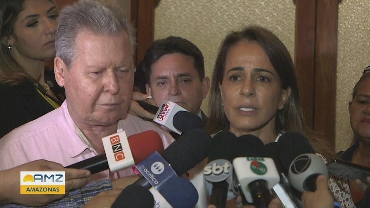 'Meu filho não matou ninguém' diz Elisabeth Valeiko, primeira-dama de Manaus