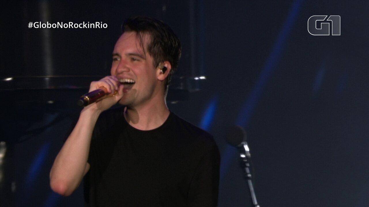 """Panic! At The Disco encerra show no Rock in Rio com """"High Hopes"""""""