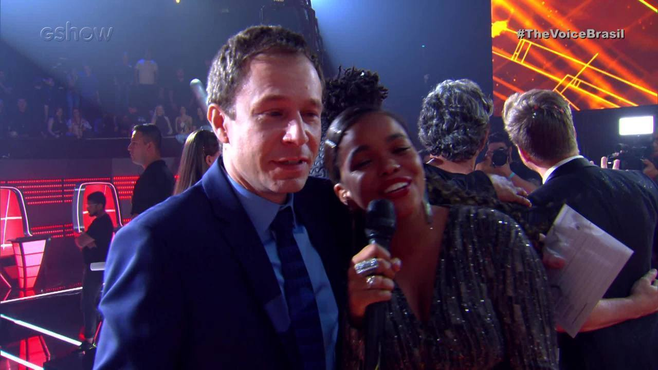 Tiago Leifert se emociona com a final do The Voice Brasil 2019