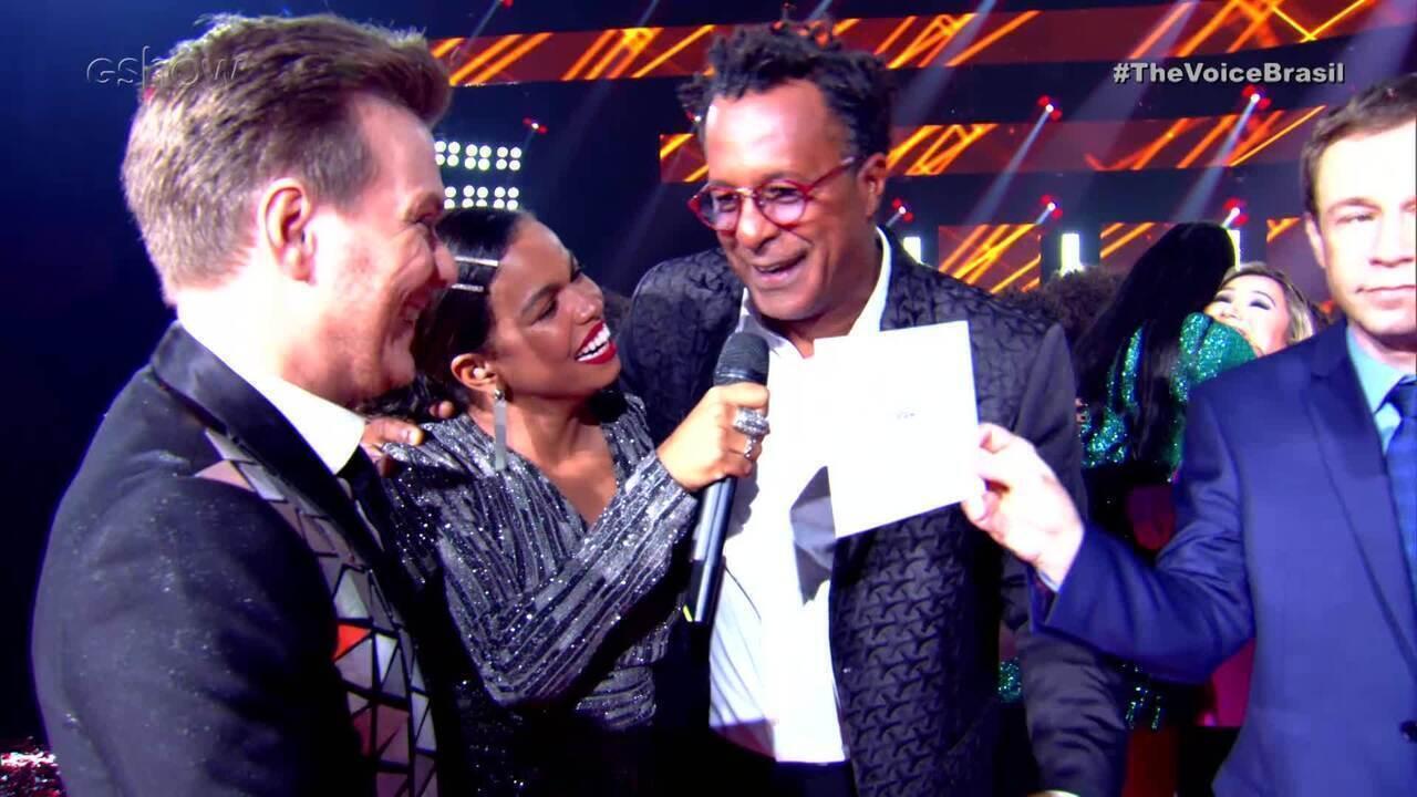 Michel Teló e Tony Gordon falam da vitória no The Voice Brasil