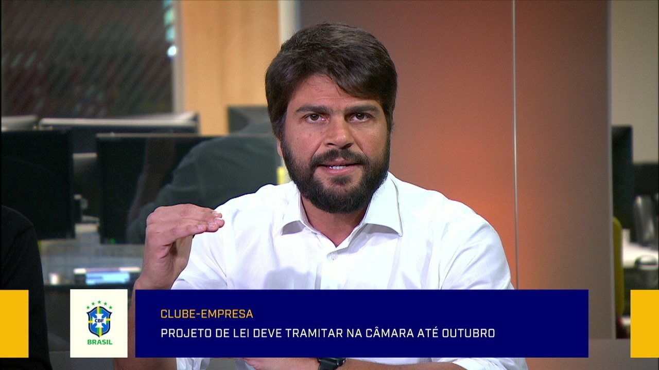 Pedro Paulo fala sobre projeto de lei para clube-empresa
