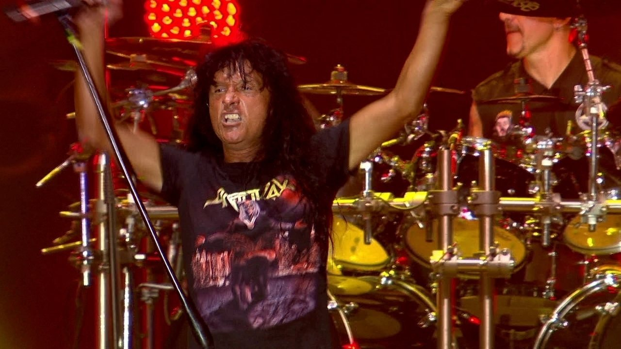 "Anthrax toca ""Caught in a Mosh"" no Rock in Rio"