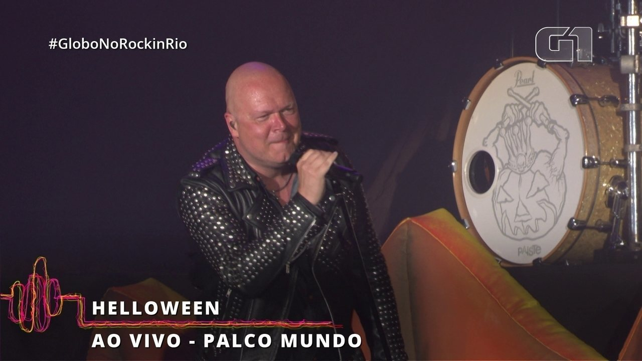 "Helloween interpreta ""Eagle Fly Free"" no Rock in Rio"