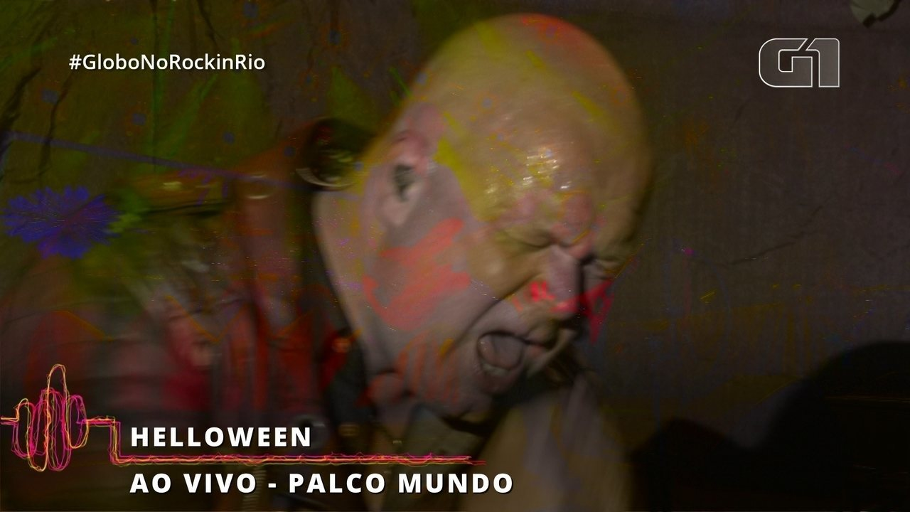 "Helloween encerra show no Rock in Rio com ""I Want Out"""