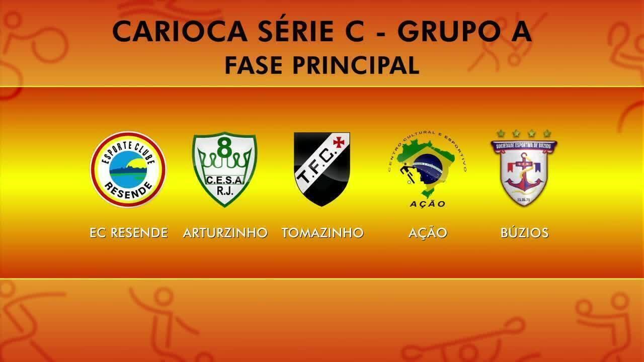 Entenda o sistema de disputa da Série C do Carioca, que começa neste domingo