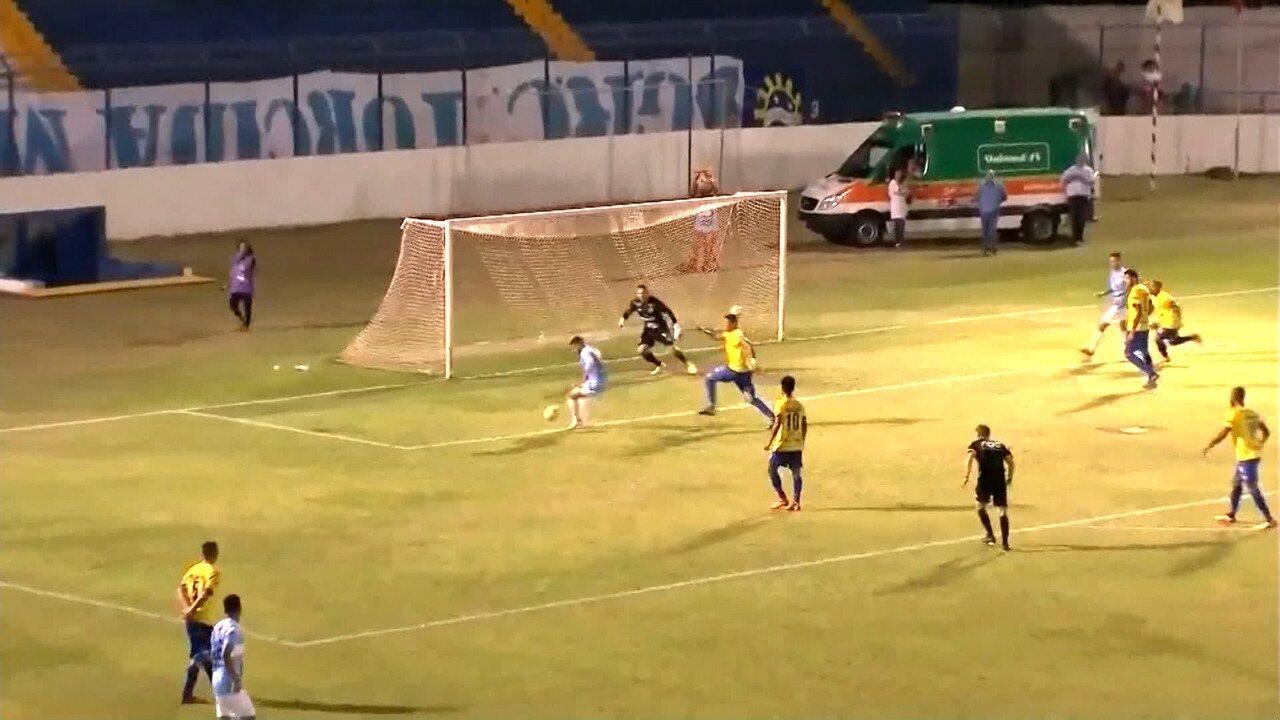 Os gols de Marília 2 x 0 São José-SP