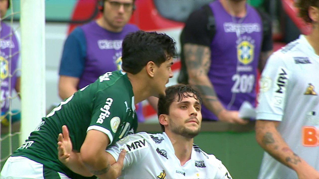 Melhores momentos de Palmeiras 1 x 1 Atlético-MG pela 23ª rodada do Brasileirão