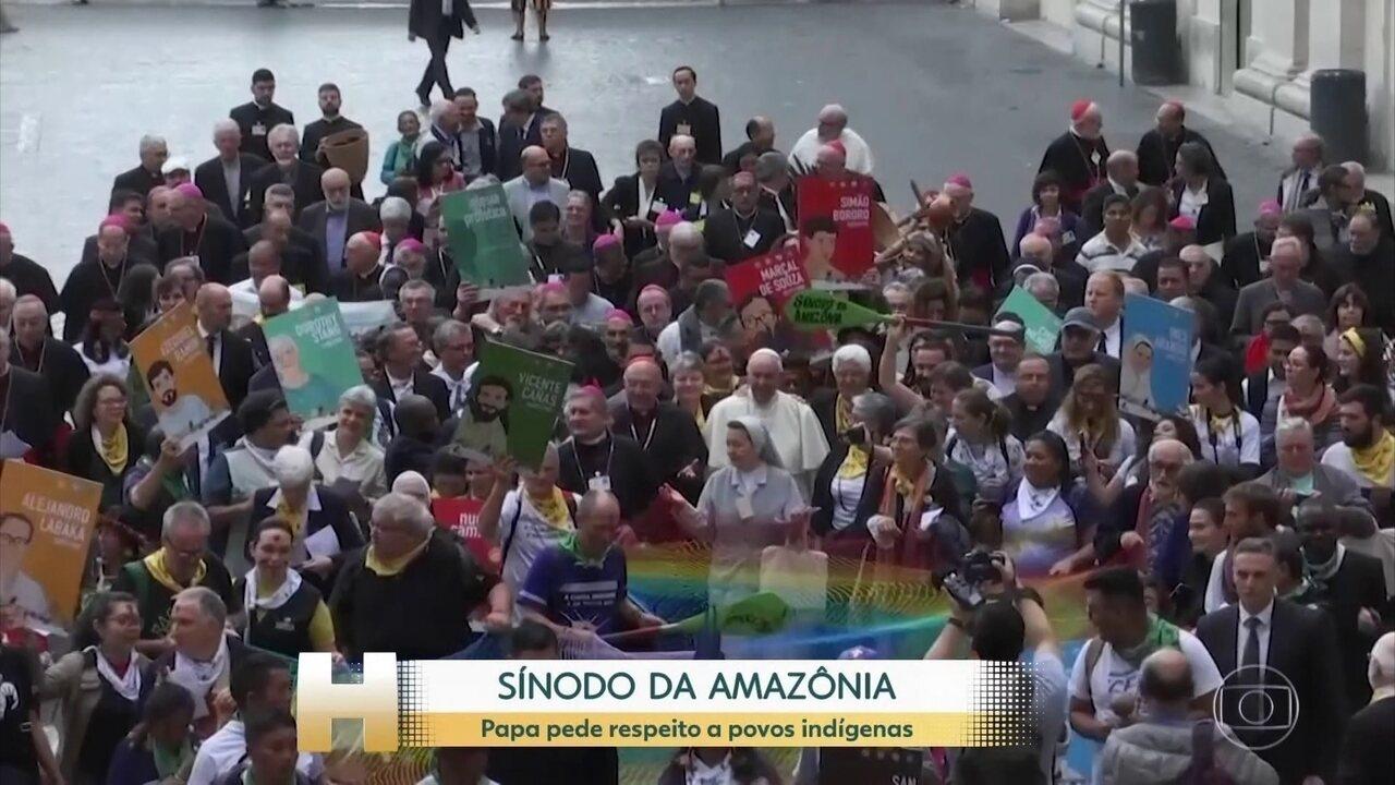 Sínodo da Amazônia, reunião do Papa com quase 200 bispos, acontece no Vaticano