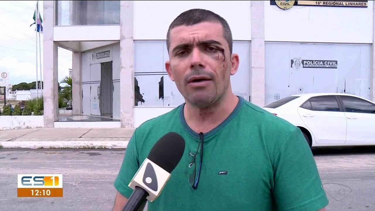 Professor faz denúncia de agressão contra o vereador Rogerinho do Gás, no ES