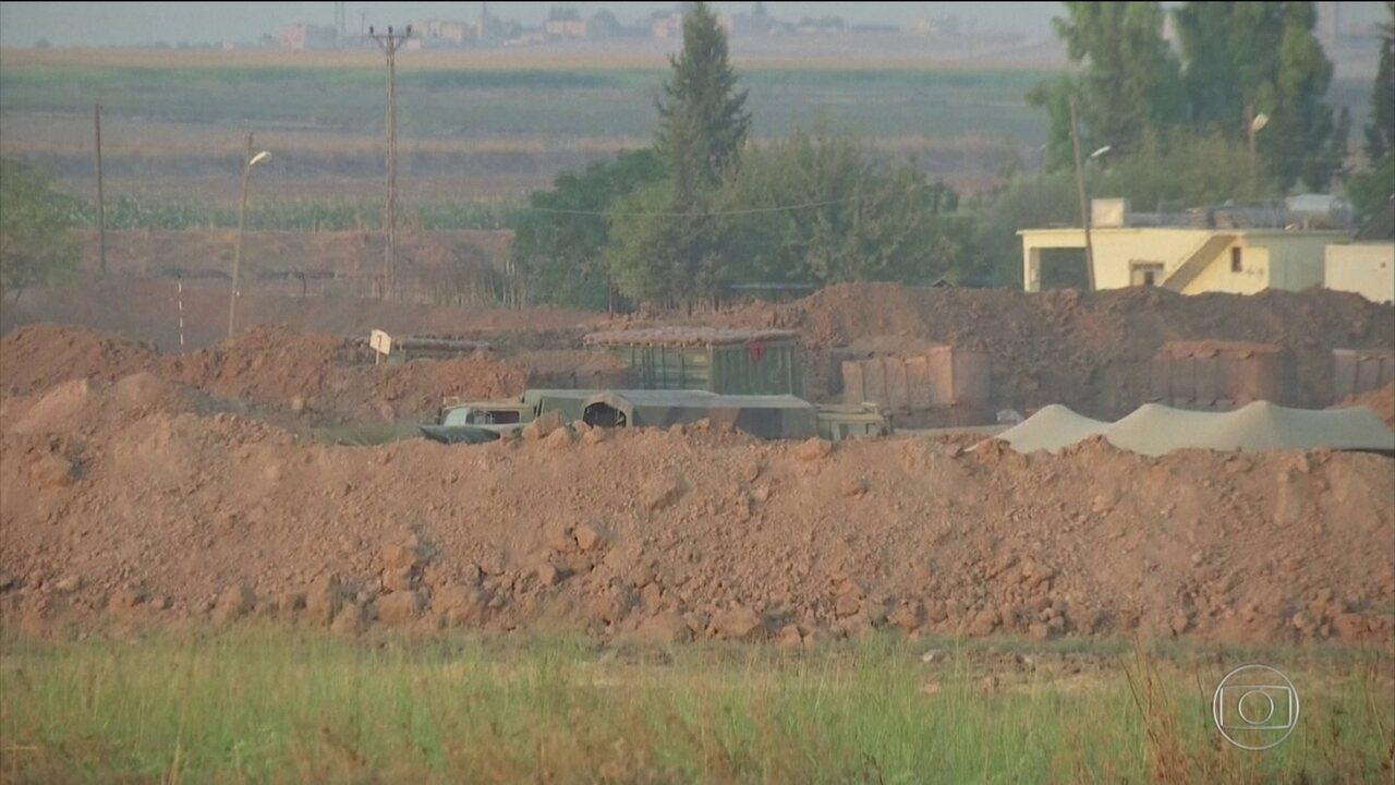 Turquia diz que está pronta para ofensiva militar no Norte da Síria