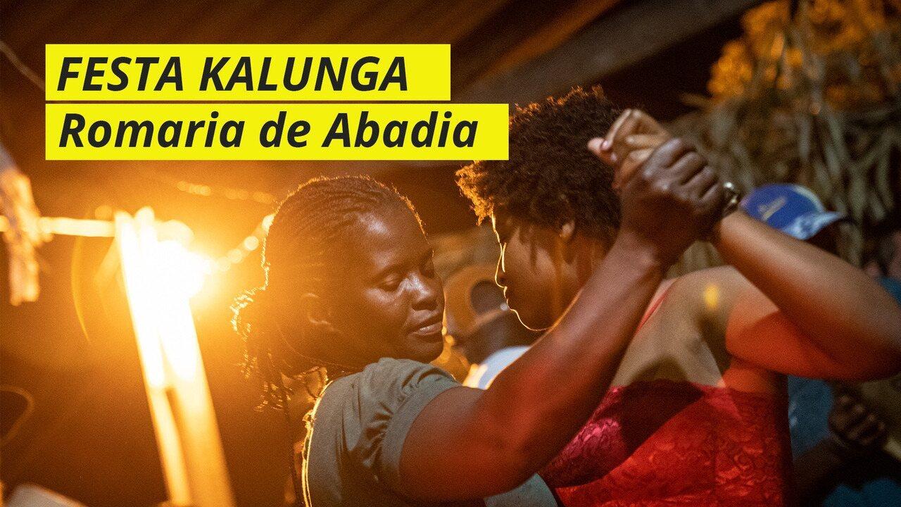 Conheça a Romaria de Nossa Senhora da Abadia, festejo do Quilombo Kalunga
