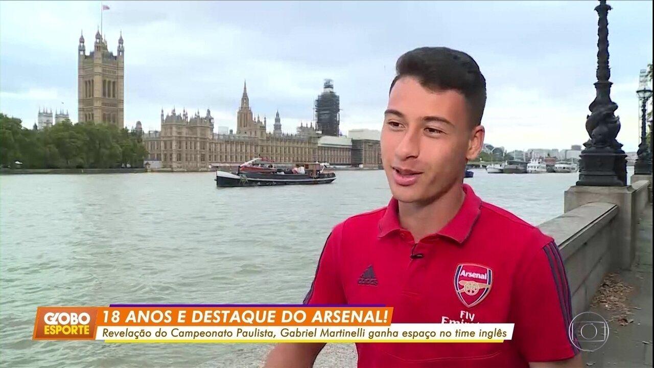 Jovens brasileiros se destacam no futebol inglês