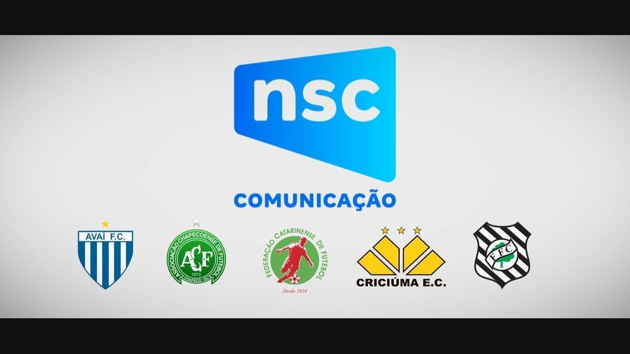 NSC divulga campanha de apoio ao futebol catarinense