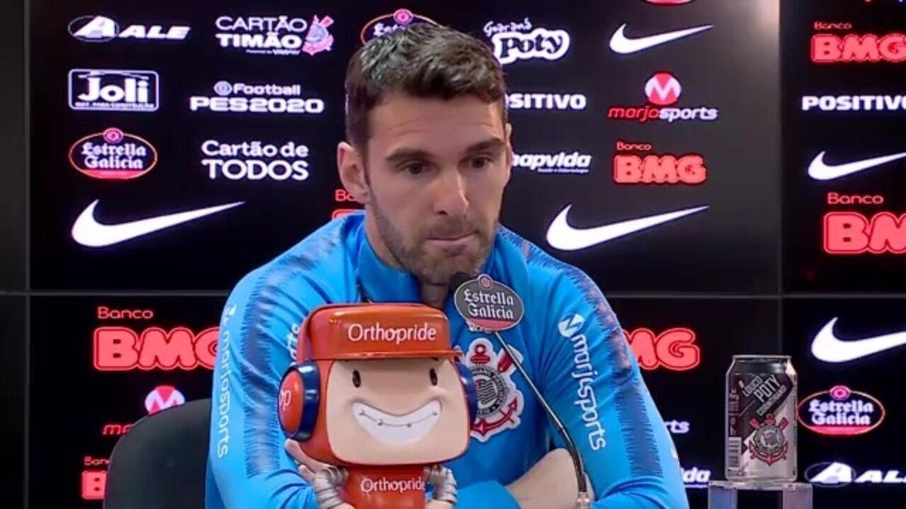 Boselli sincerão: veja a entrevista coletiva do atacante do Corinthians