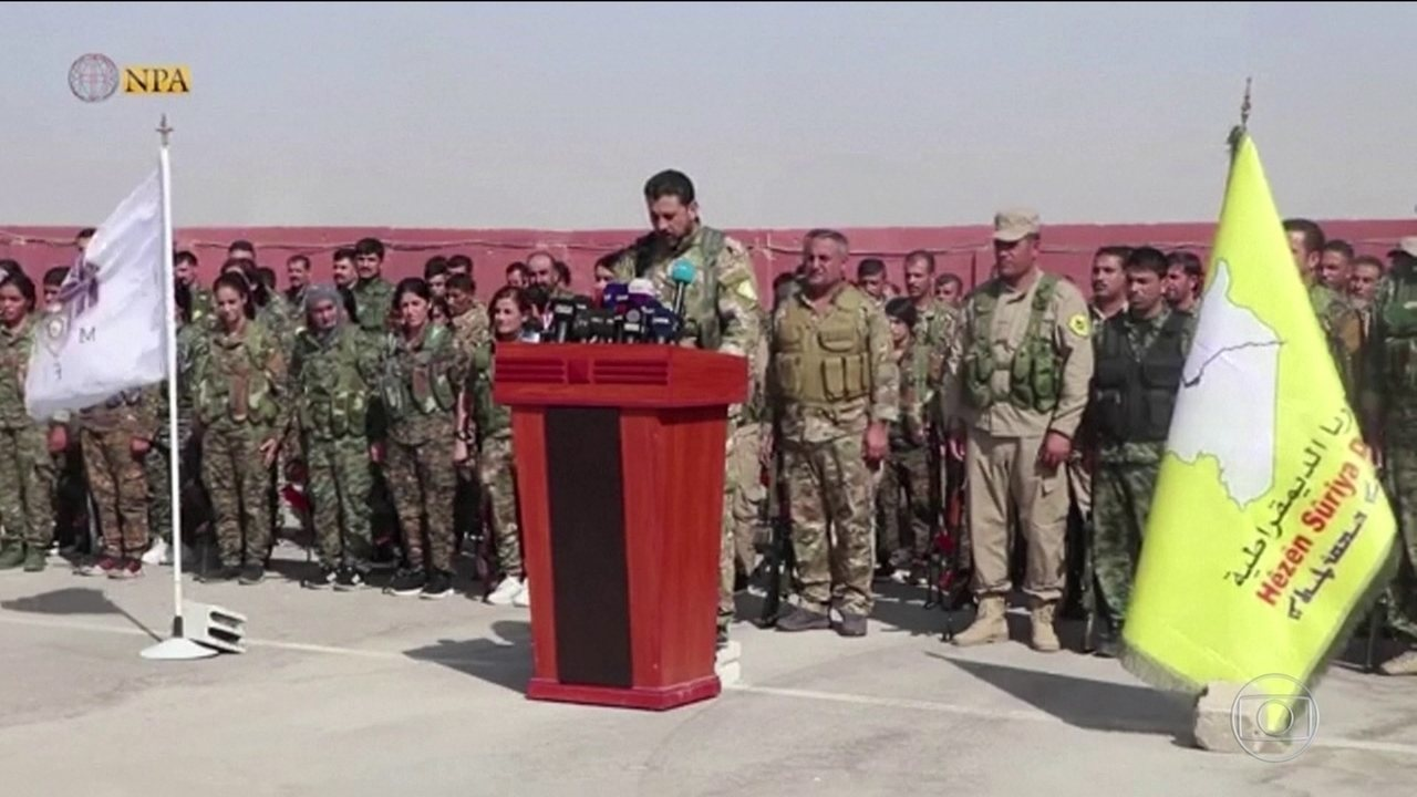 Depois da retirada dos EUA, a Turquia ataca os curdos na região nordeste da Síria