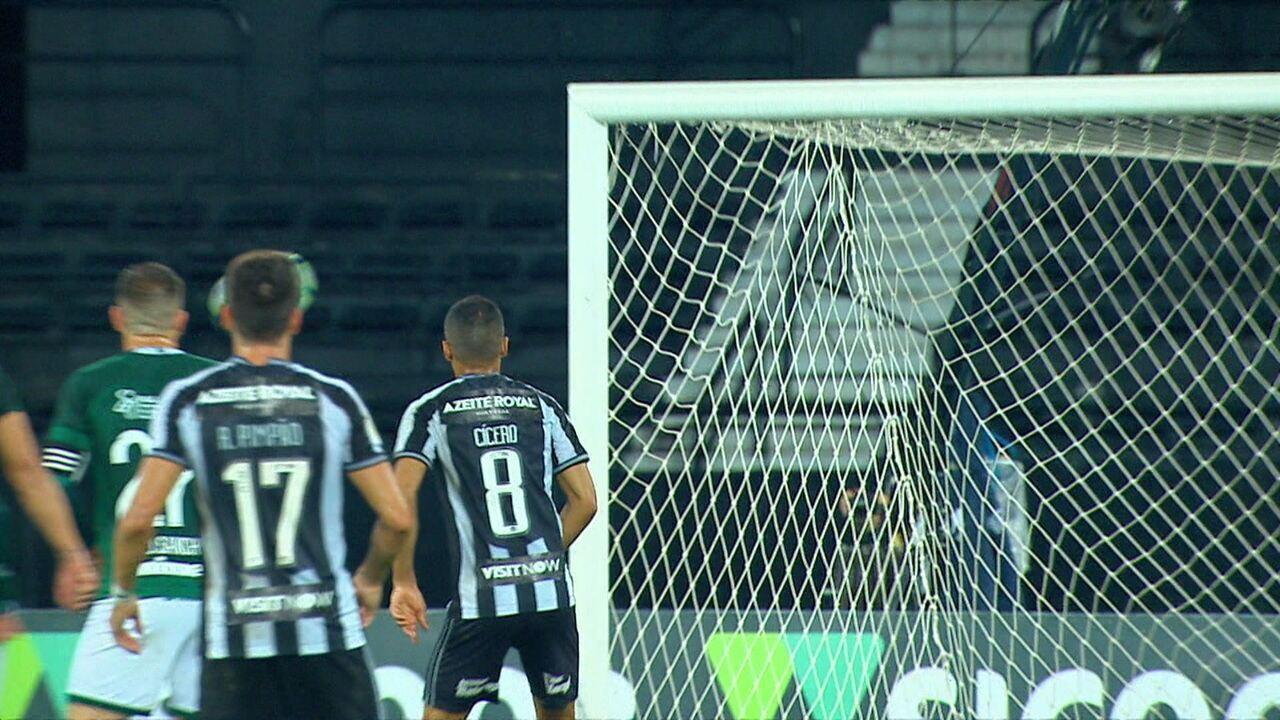 Melhores momentos: Botafogo 3 x 1 Goiás pela 24ª rodada do Brasileirão 2019