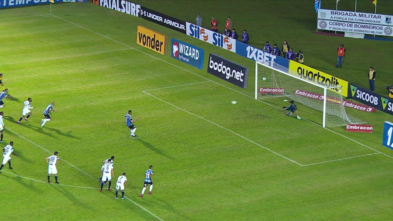 Melhores momentos de Grêmio 2 x 1 Ceará pela 24ª rodada do Campeonato Brasileiro