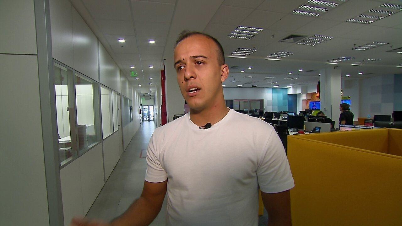 Autor de gol da taça, Matheus Carvalho conta histórias da Série C e sonho de voltar ao Flu