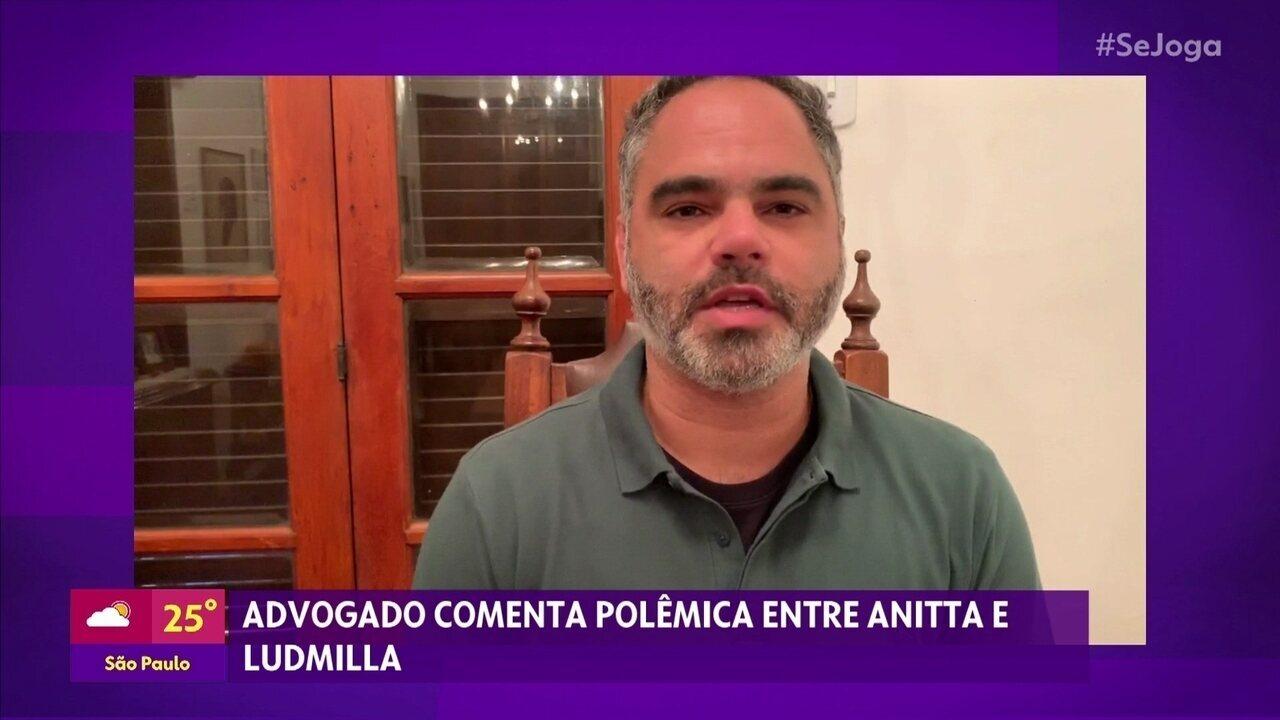 Advogado comenta a polêmica entre Ludmilla e Anitta