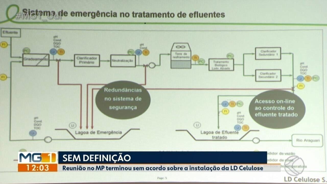 Reunião no MP termina sem acordo sobre instalação de multinacional de celulose em Araguari