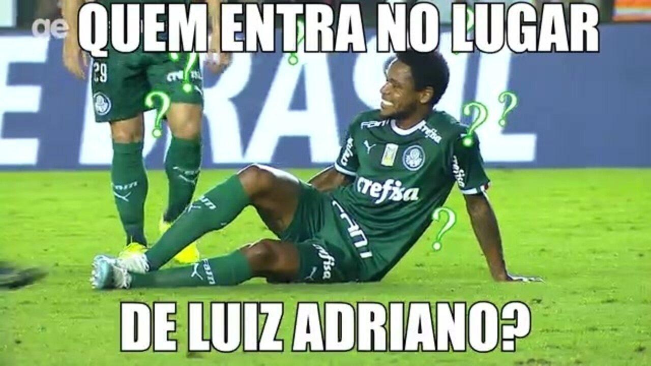 Boletim do Palmeiras: a lesão de Luiz Adriano, quem pode entrar no time e o treino para pegar o Botafogo