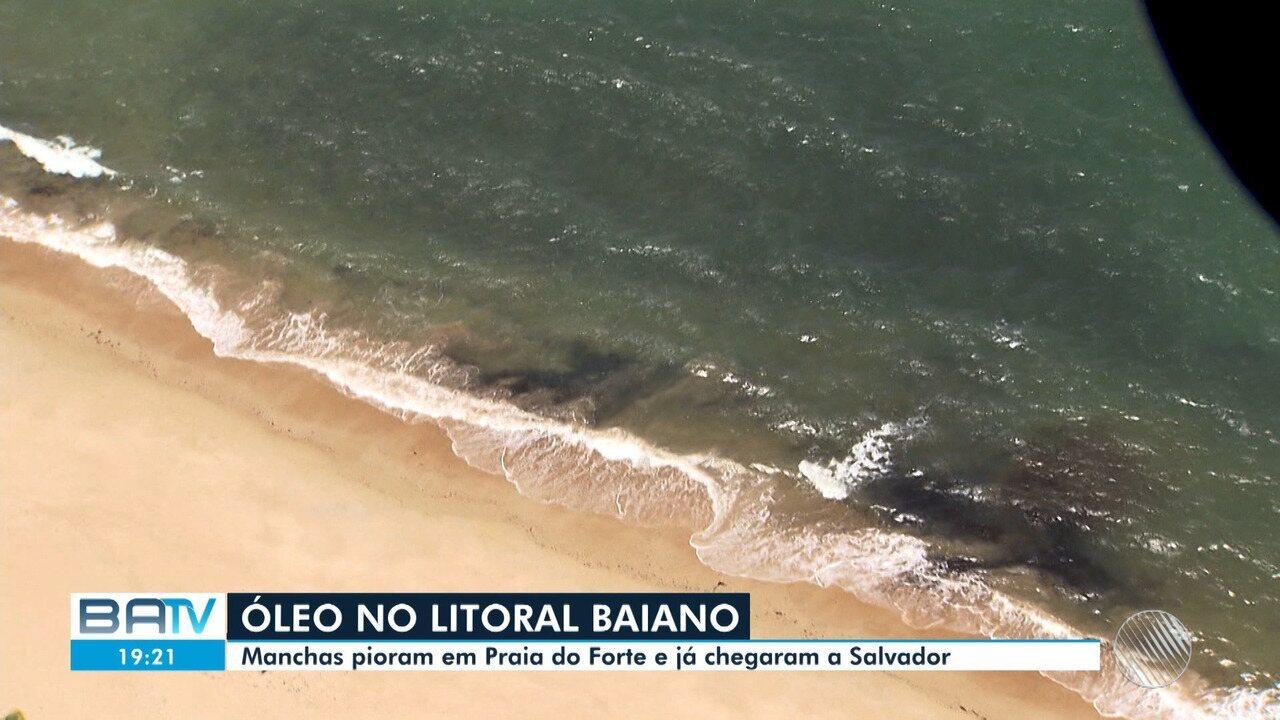 Ibama transfere escritório para Salvador onde deve monitorar manchas de óleo no litoral