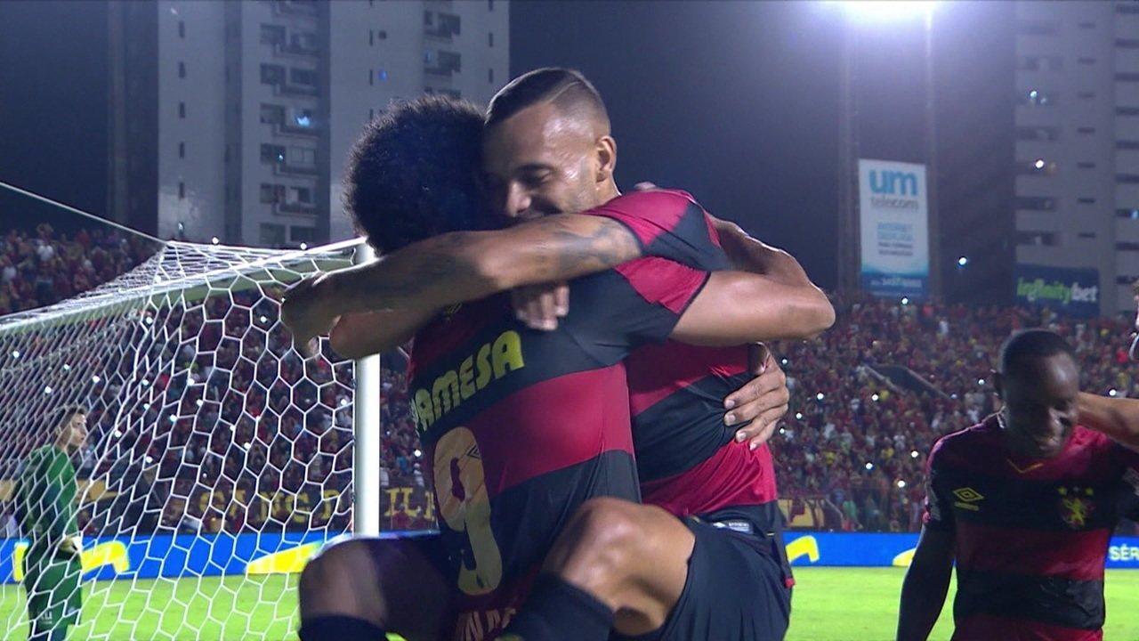 Os gols de Sport 2 x 0 São Bento pela 28ª rodada da Série B 2019
