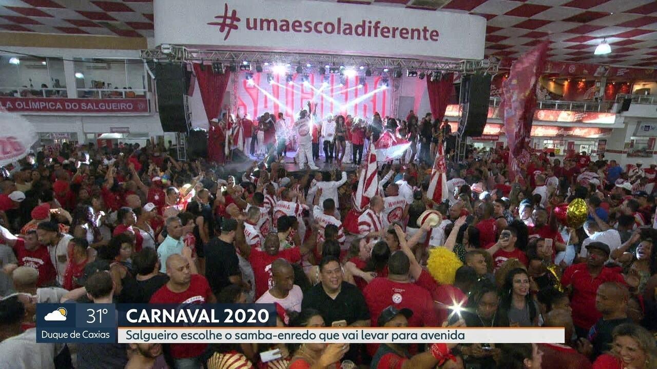 Salgueiro define o samba do carnaval 2020