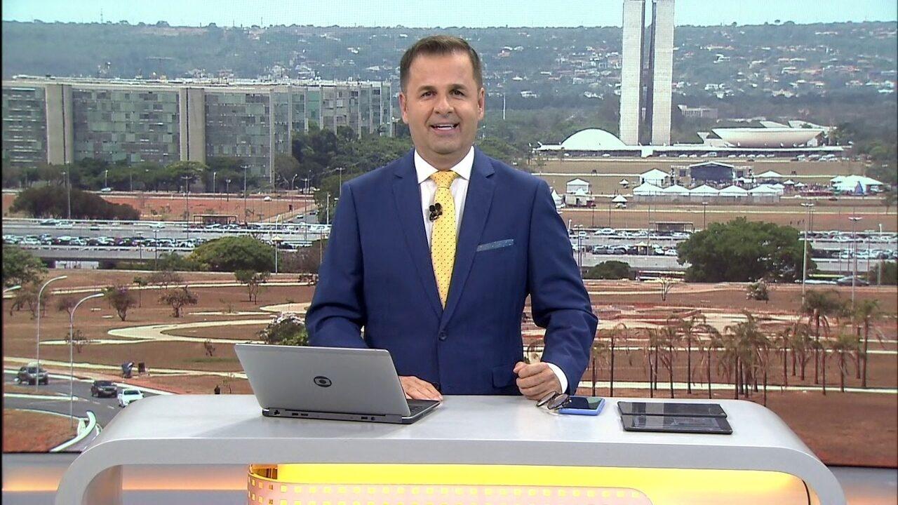 DF1 - Edição de sábado, 12/10/2019 - Governador Ibaneis passa a noite no hospital depois de cair no banheiro de casa e machucar a cabeça. E mais as notícias da manhã.
