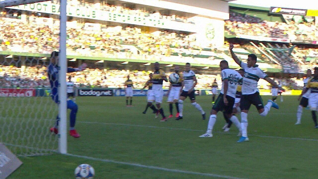 Melhores momentos de Coritiba 1 x 0 Criciúma pela rodada 28 do Brasileirão Série B