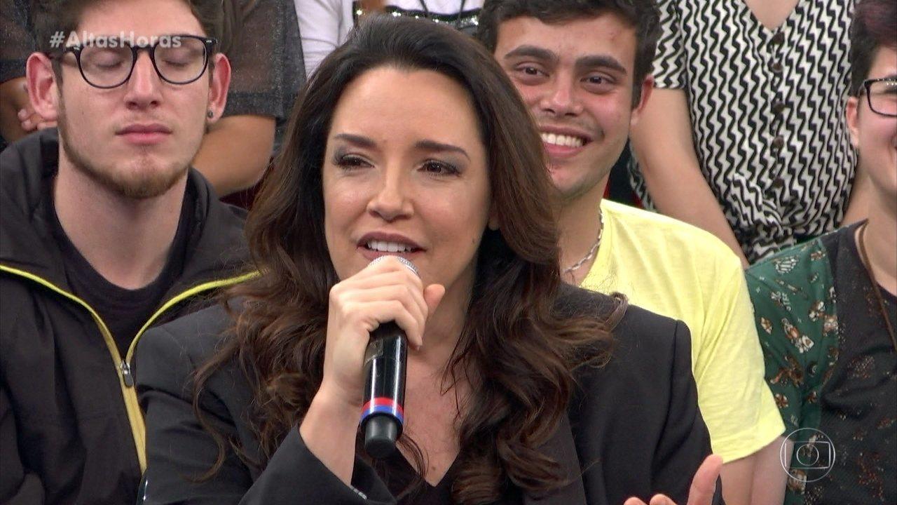 Ana Carolina fala sobre ligação que recebeu de Zeca Pagodinho