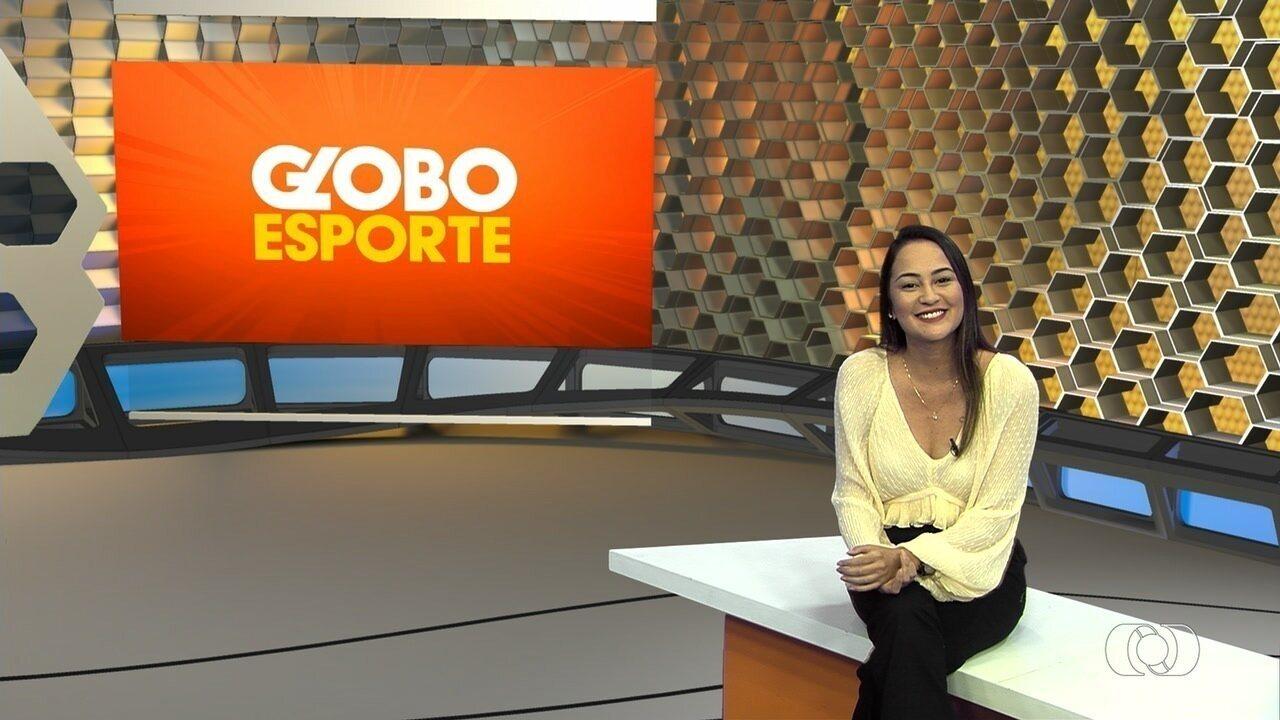 Globo Esporte GO - 14/10/2019 - Íntegra - Confira a íntegra do programa Globo Esporte GO - 14/10/2019