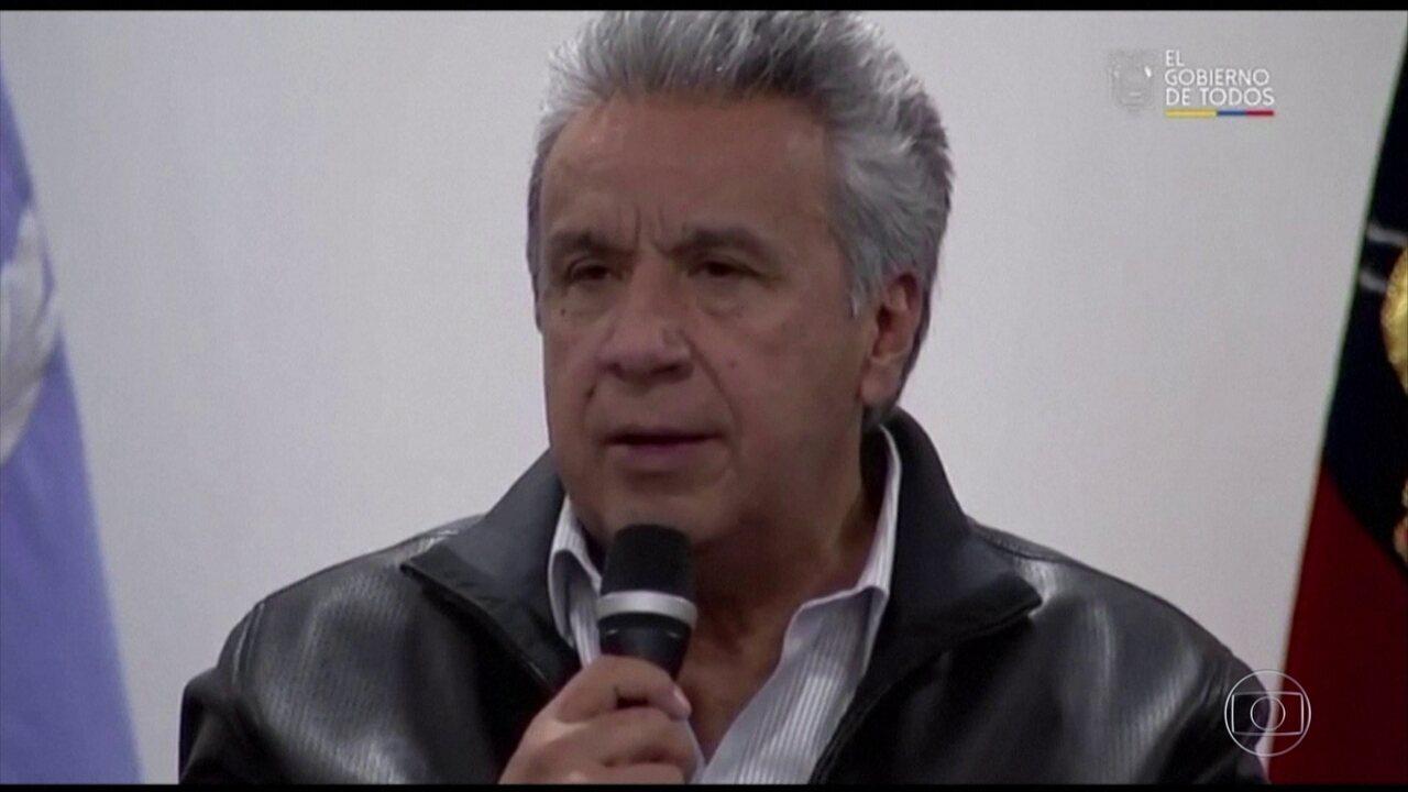 Presidente do Equador revoga decreto que suspendia subsídios