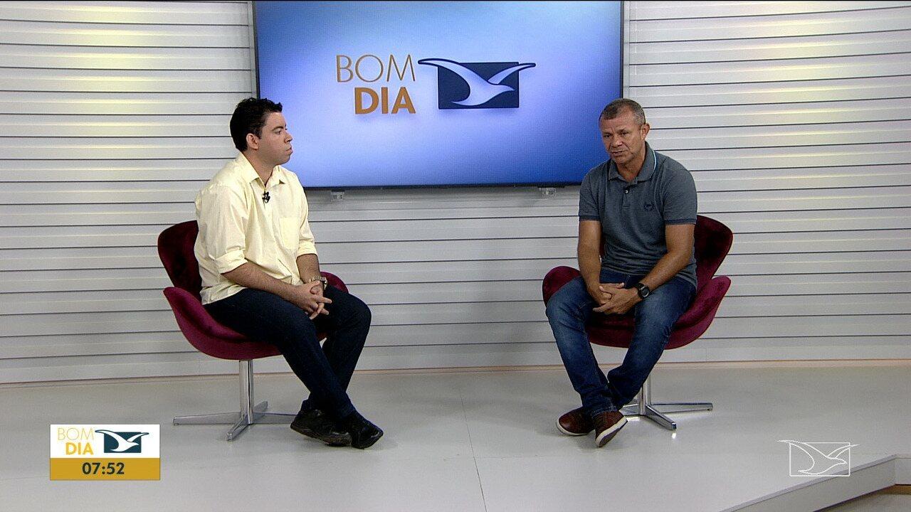 Técnico do Moto Club foi entrevistado no Bom dia Mirante