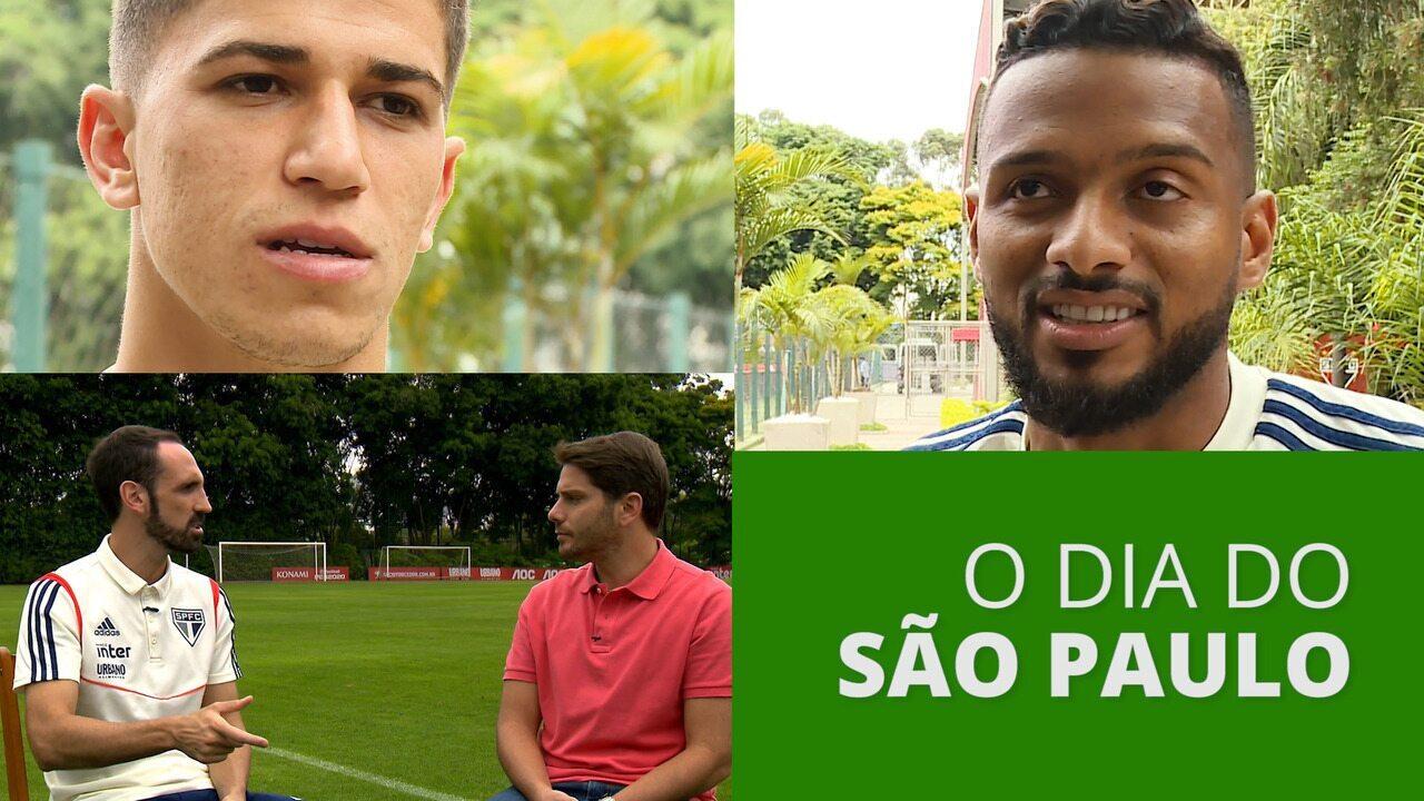 Veja as principais notícias do São Paulo e um trecho de entrevista com Juanfran