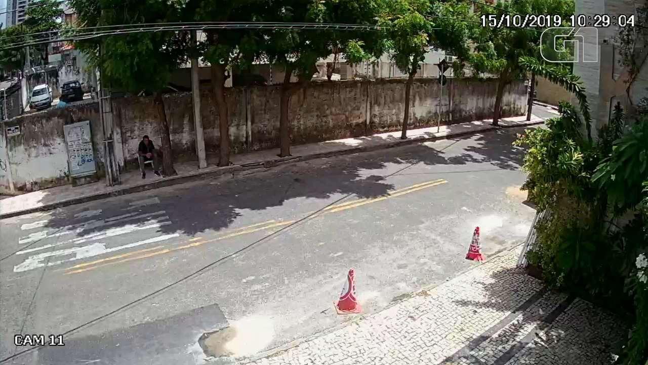 Vídeo mostra primeiros momentos do desabamento em Fortaleza