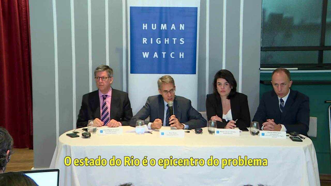 Cúpula da organização internacional Human Rights Watch se reúne no Brasil