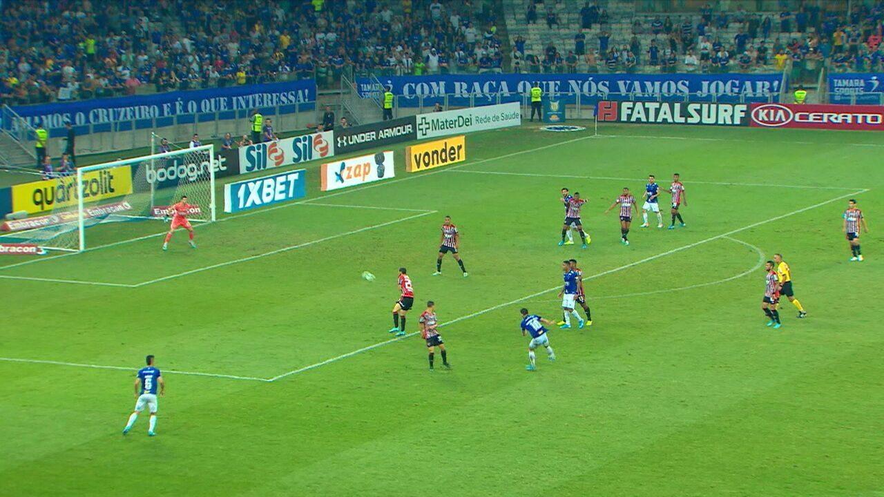 Melhores momentos de Cruzeiro 1 x 0 São Paulo pela 26ª rodada do Campeonato Brasileiro
