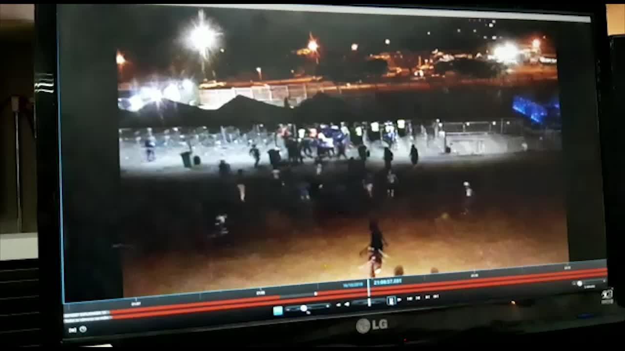 Torcedores do Cruzeiro invadem Mineirão na partida contra o São Paulo