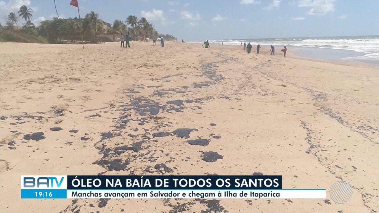 Sobe para nove o número de municípios afetados pelas machas de óleo na Bahia