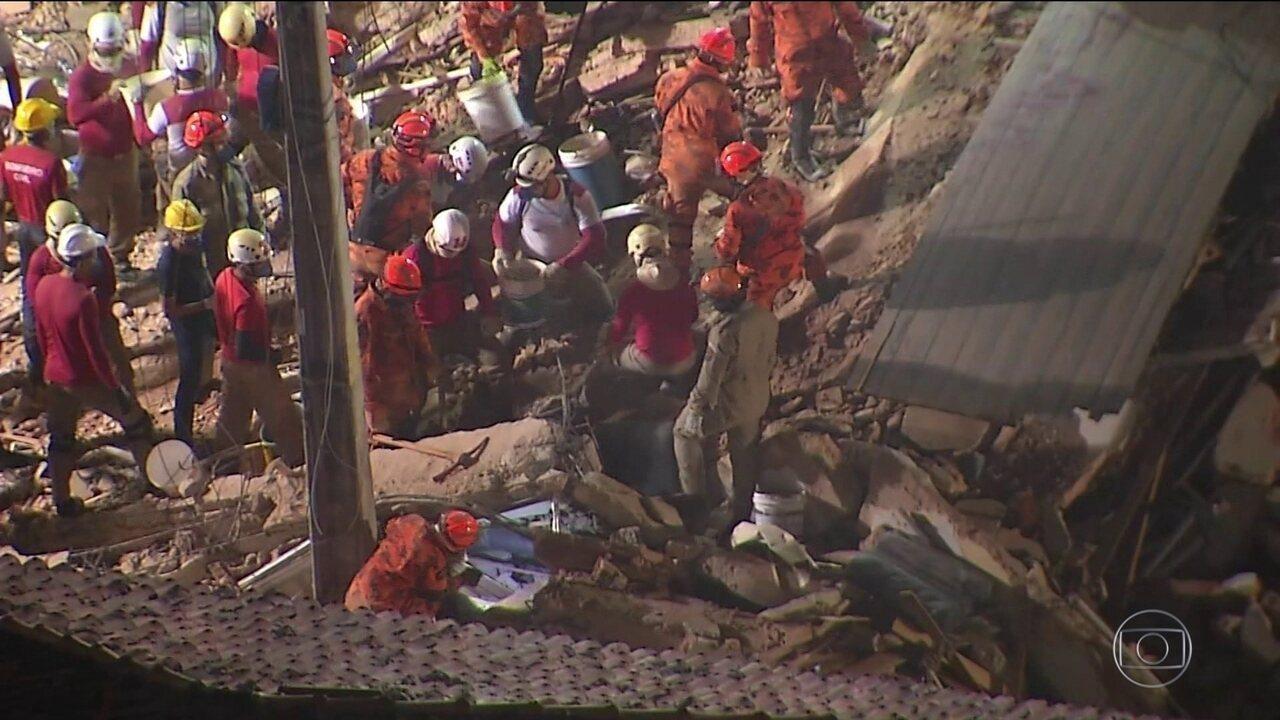 Sobe para 5 o número de mortes confirmadas no prédio que desabou em Fortaleza