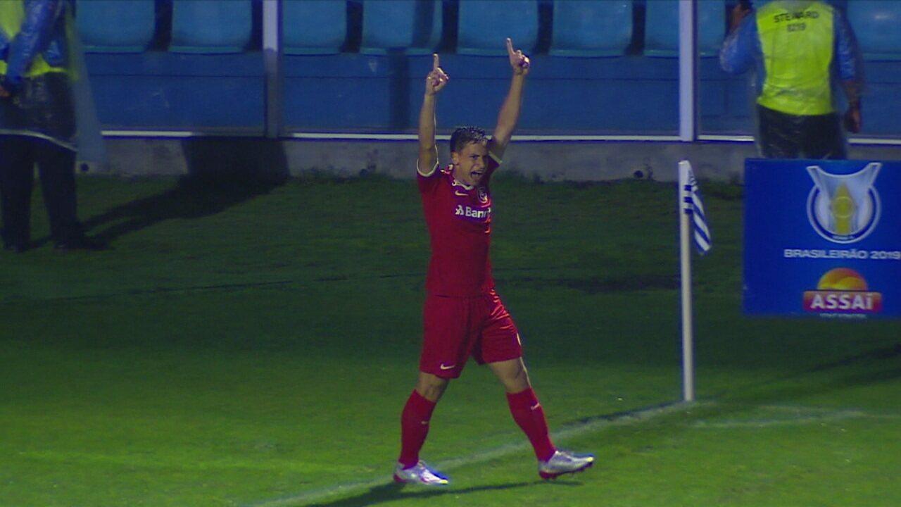 Os gols de Avaí 0x2 Internacional pela 26º rodada do Campeonato Brasileiro