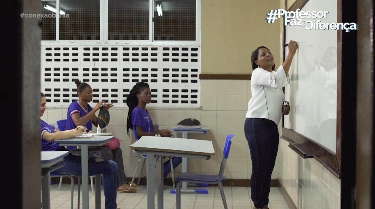 Professoras falam da emoção de serem profissionais da educação