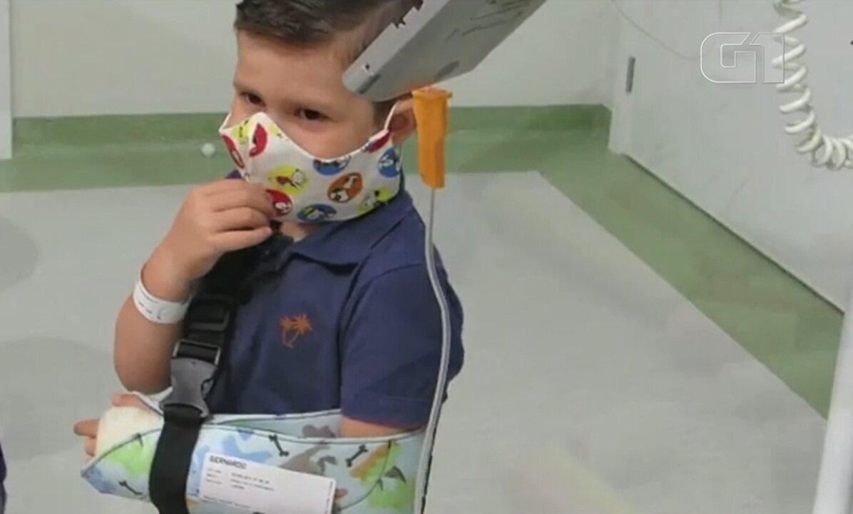 Projeto do DF doa máscaras coloridas de tecido a pacientes com câncer em todo o Brasil