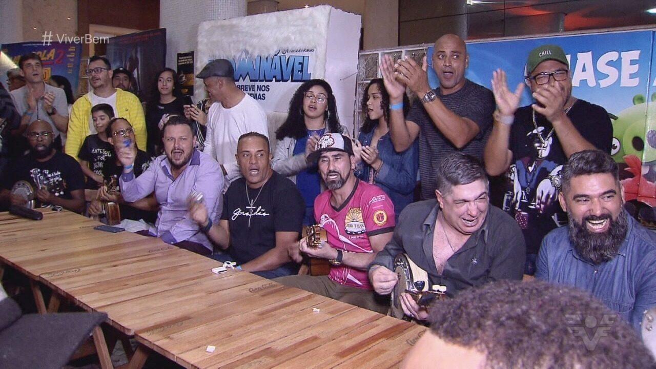 Projeto Baixada Sambista busca dar visibilidade a artistas do samba