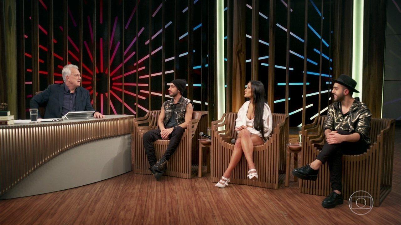 Gabriela, Diogo e Rodrigo falam sobre relação com fãs