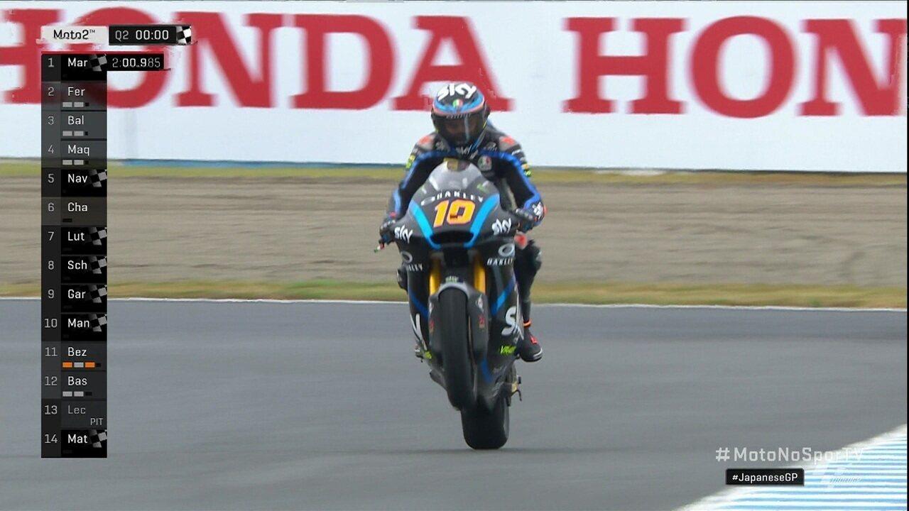 Luca Marini conquista pole da etapa Japão de Moto2 no Mundial de Motovelocidade
