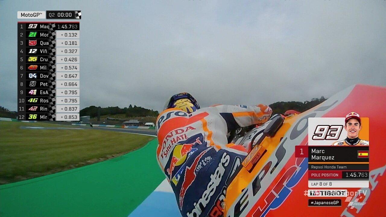 Marc Márquez conquista pole da etapa Japão do MotoGP no Mundial de Motovelocidade