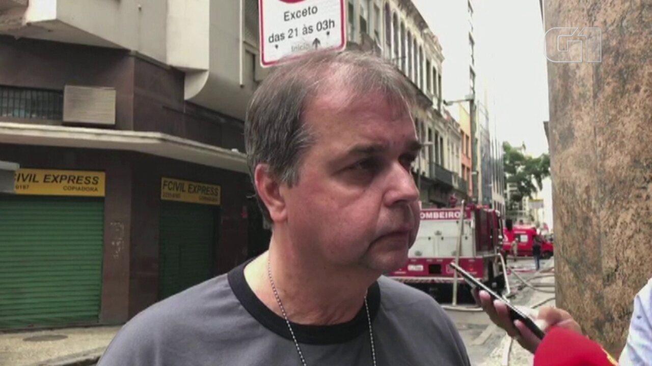 Delegado José Luiz Duarte fala sobre o pode ter causado o incêndio na Quatro por Quatro
